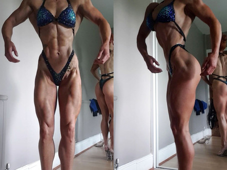 1 week out from 2Bros Pro Events | First figure contest prep