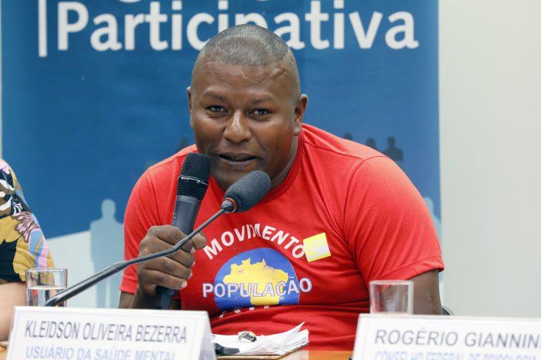 Kleidson Oliveira Beserra promete resistência contra o fechamento dos CAPS em Brasília