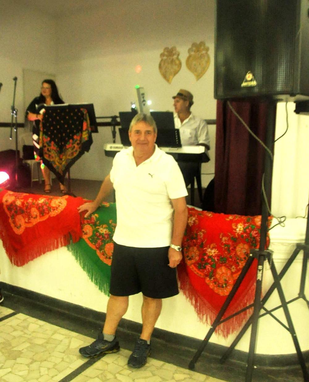 O Diretor do Centro Cultural Português Roberto de Pinho