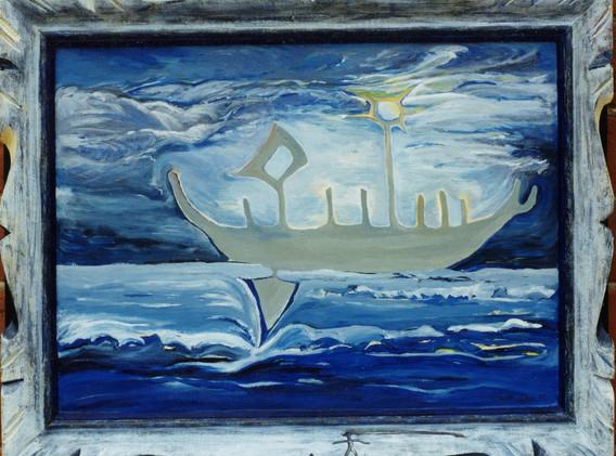 Magic Boat Journey Through Water