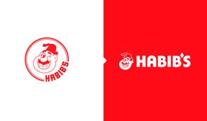 Habib's revela redesign de seu logotipo