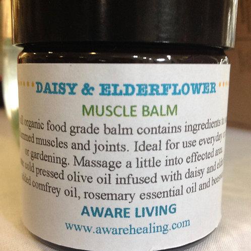 Daisy & Elderflower Muscle Balm