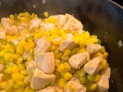 Chicken Corn Salad