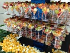 Assorted Fruits Presentation.