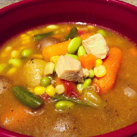 Vegetable Chicken Soup.
