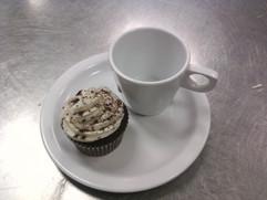 Chocolate Coffee Cupcake.
