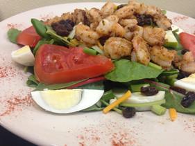 Grilled Shrimp Salad.