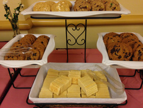Cookies and Crackers Tray.