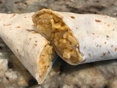 Cheese Rice Burrito.