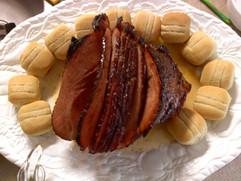 Brown Sugar Honey Ham.