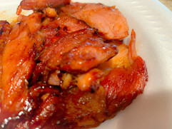 Cinnamon Grilled Ham.