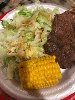 Picnic Thin Steak plate.