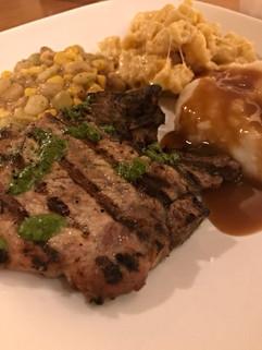 Steak Plate.