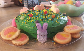 Vanilla Candy Cake.