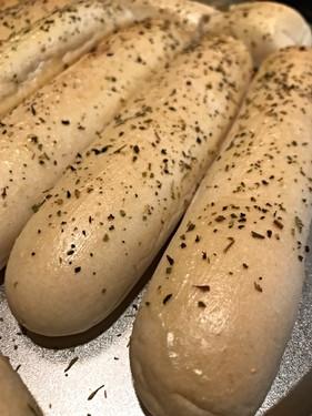 Garlic Bread Sticks.
