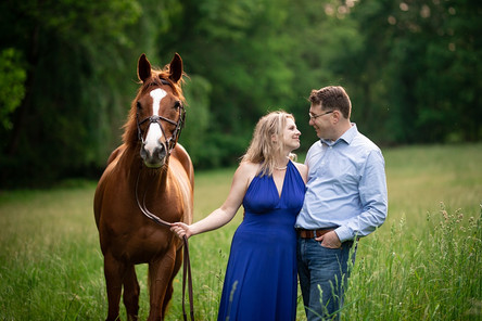Merrilyn & Andrew // Engagement Session // Bond Session // Brookeville, MD