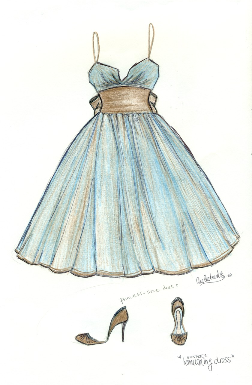 BLUE MOCHA - Fashion Design