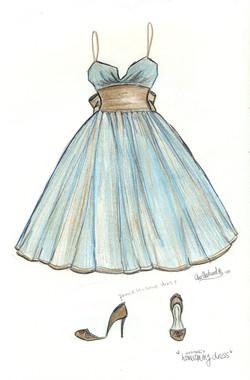 BLUE MOCHA - Fashion Design