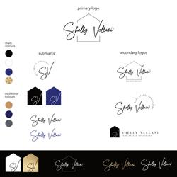 logo-template branding-shellyV-logo