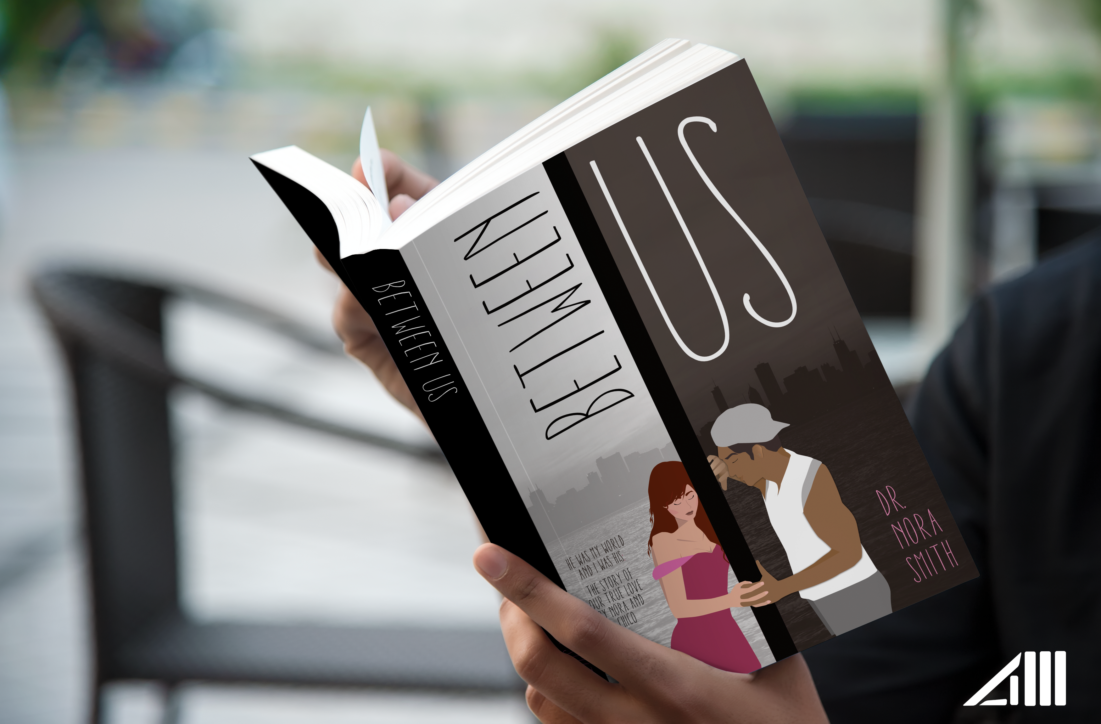 BETWEEN US (Title, Illustration & Book Cover Design)