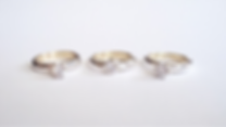 Zilvern ringen met binnenin oud goud oma gravure zetkast edelsteen