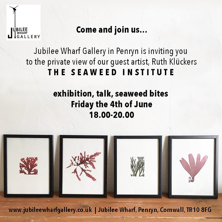 Exhibition, talk and seaweeds bites