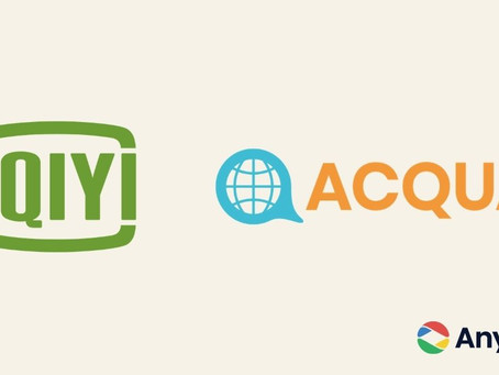 iQIYI International teams up with Acqua Media to strengthen programmatic video advertising