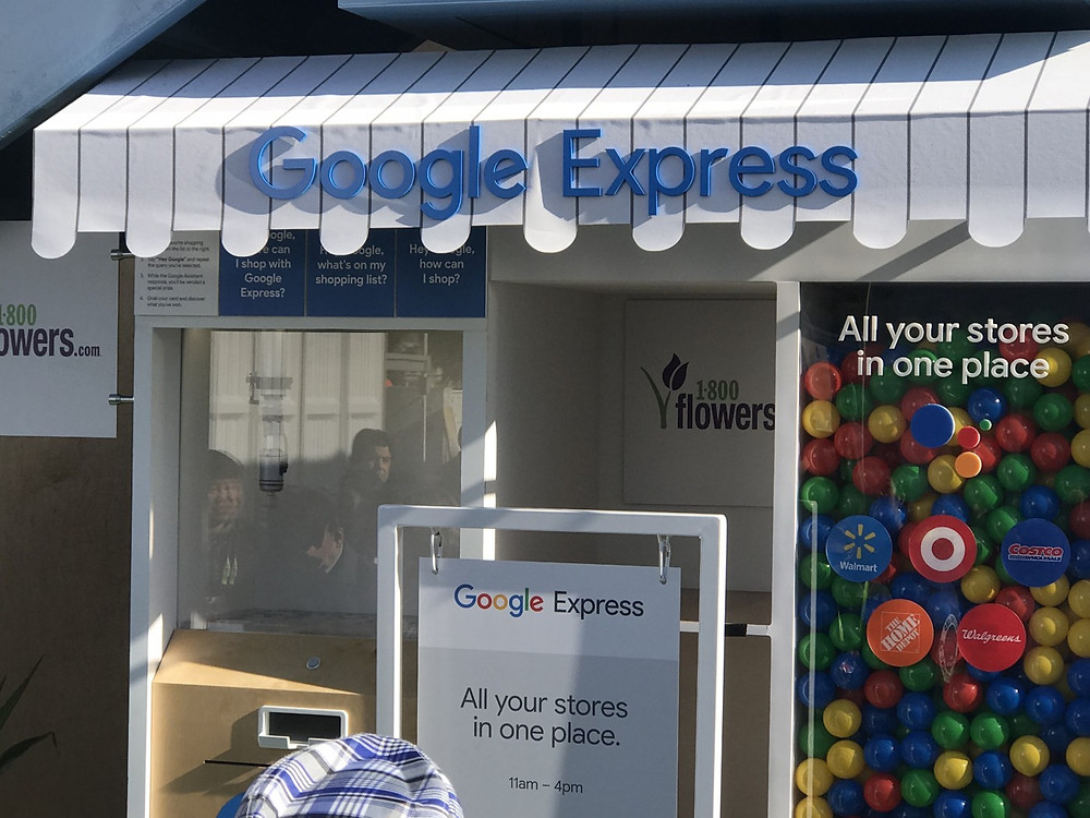 Google針對電商和零售業推出多個相對應服務,google express就是其一。