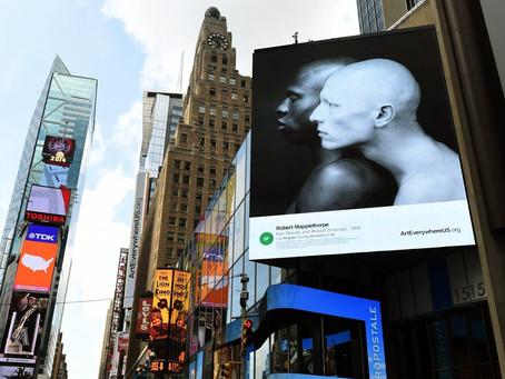 戶外廣告智能化 人流多才播出廣告