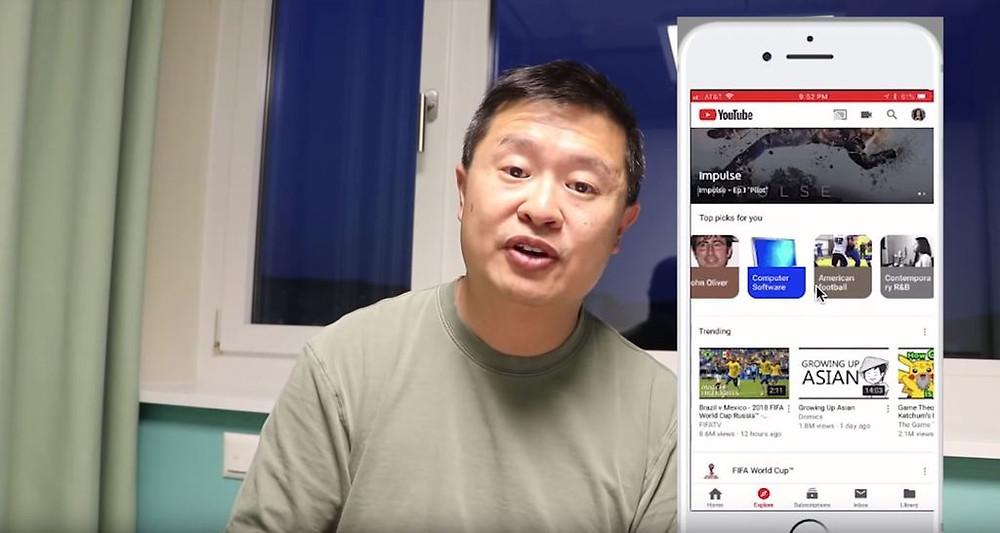 YouTube產品管理總監 Tom Leung