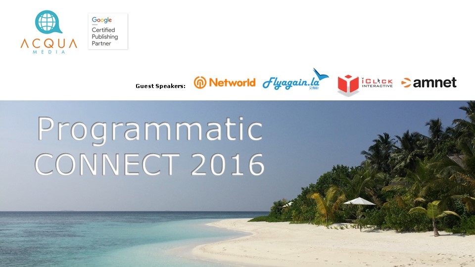 Programmatic CONNECT 2016