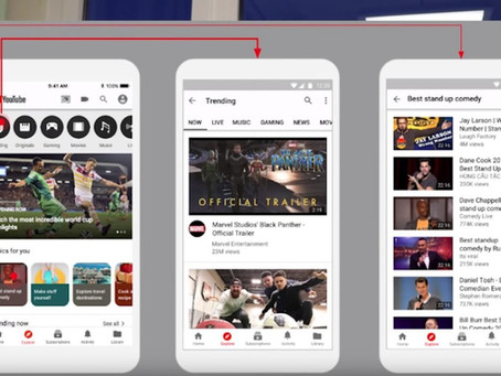 YouTube測試「Explore」新功能 加強個人化推薦