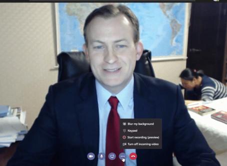 微軟視像會議軟件引入AI 執走背景免尷尬