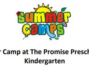2021 Summer Camp Registration Open