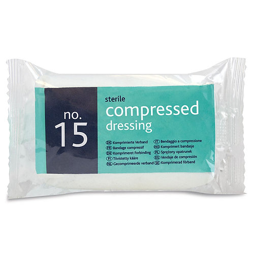 Sterile Compressed Dressing No.15