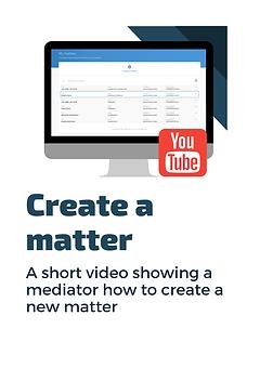 Flyer - Create a matter mediators video.
