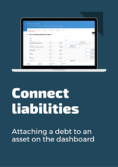 Flyer - connect liabilities attach debt