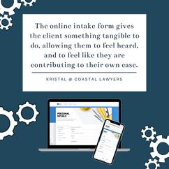 Coastal Lawyers client feedback - online