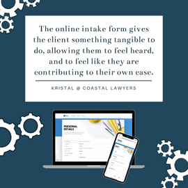 Coastal Lawyers client feedback - online