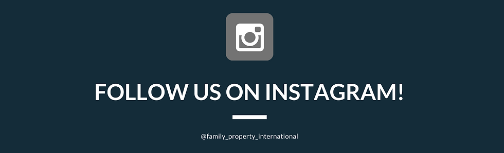 Follow us on Instagram - linked in banne