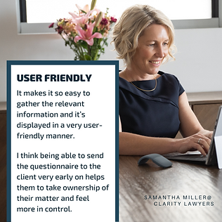 iNSTA Client spotlight - Samantha Miller