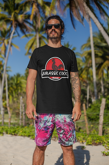 Jurassic Cock Kauai T-shirt