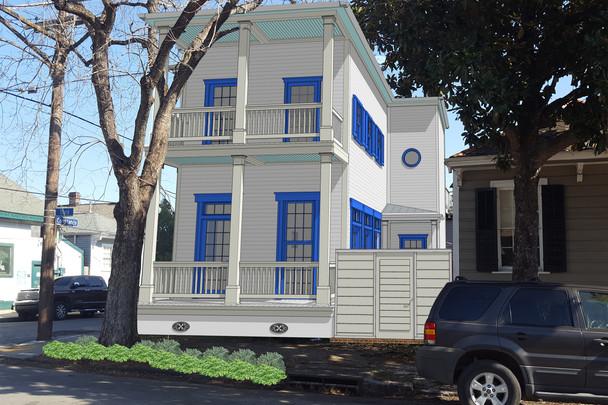 Beckett/Butler Residence, New Orleans, LA