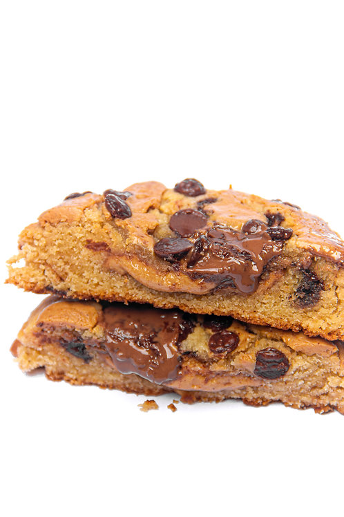 Large Peanut butter double chocolate cookie