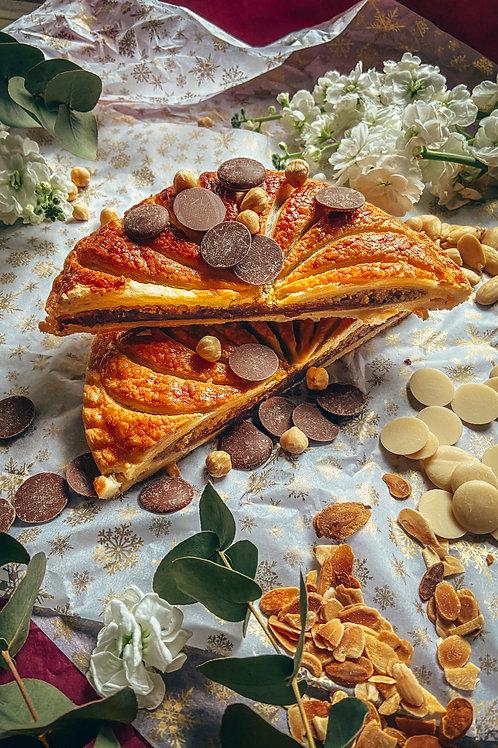 Hazelnut and mylk chocolate Galette des Rois