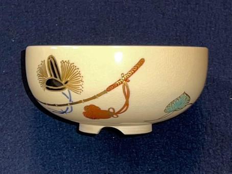 賀茂競馬(かもくらべうま)絵茶碗
