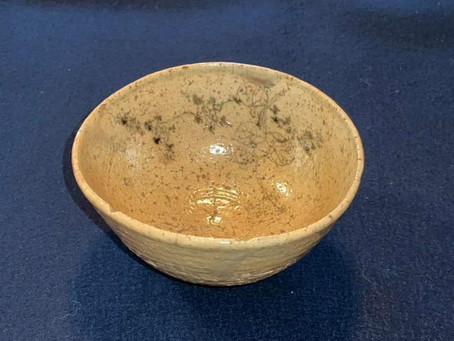 葵絵御本茶碗
