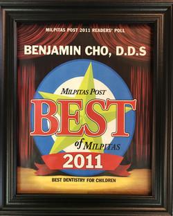 Voted best dentist San Jose