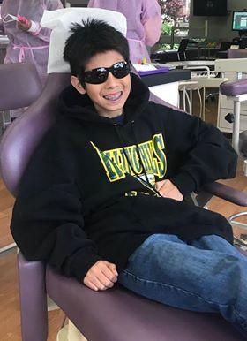 Happy Pediatric Dentist Patient Milpitas