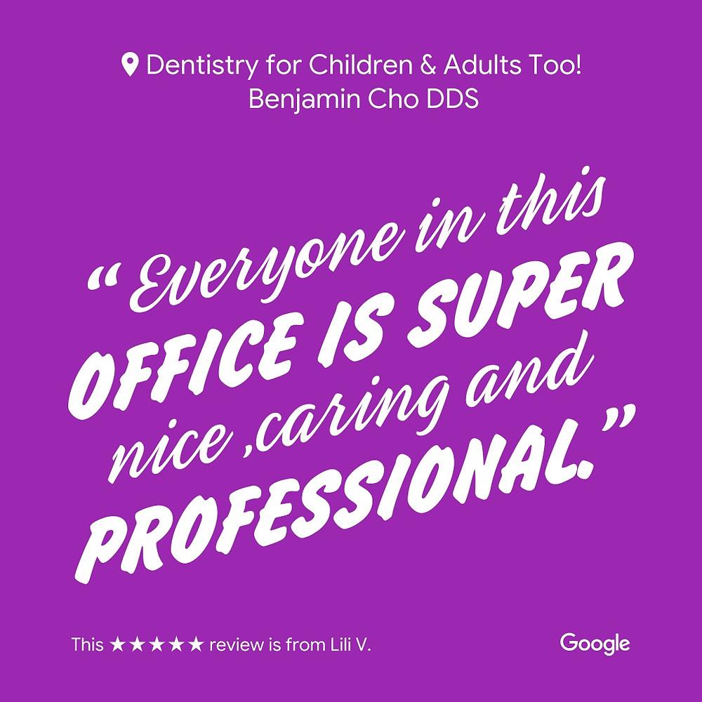 Best dentist for Kids San Jose